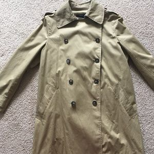 Madewell trench coat size S